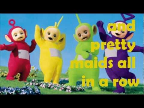 Teletubbies Theme Song | Lyrics On Screen