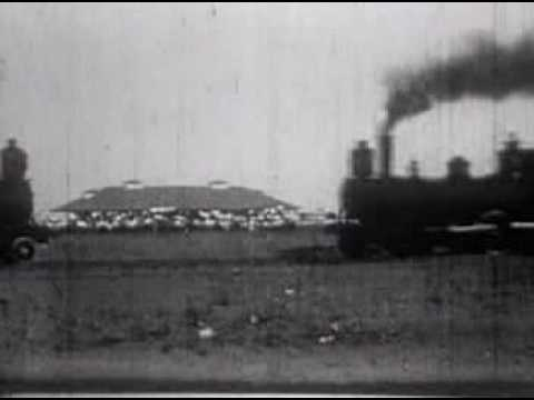Spectacular 1913 Train Collision - YouTube