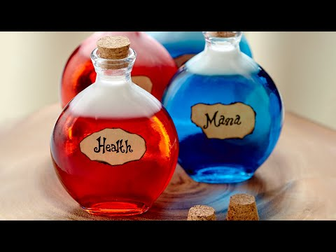 DIABLO 3 SKITTLE VODKA POTIONS - NERDY NUMMIES