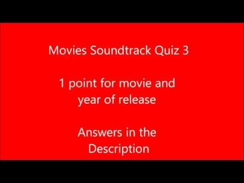 Movie Soundtrack Quiz 3 #1