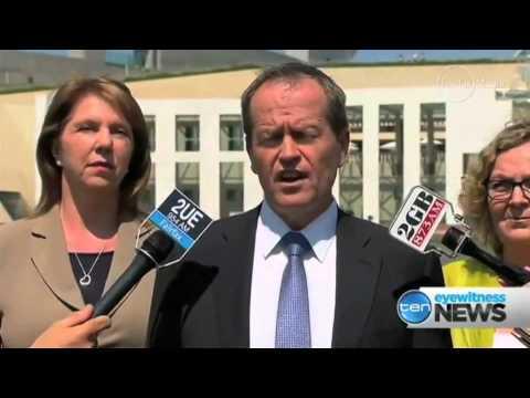 Pollies talking about Qantas job losses pending - Wed