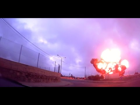 Dashcam Footage Captures Moment of Plane Crash in Luqa, Malta