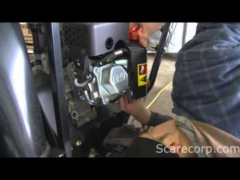 Snow Blower Carburetor Clean