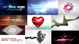 Top 10 Intro Template Sony Vegas Pro 13 2016 Download Free