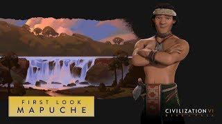 Civilization VI: Rise and Fall ? First Look: Mapuche