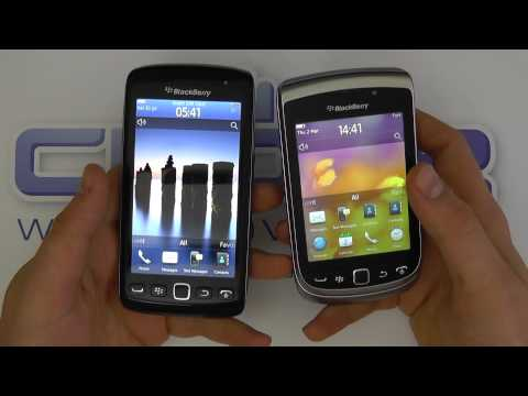 BlackBerry Torch 9810 & 9860 Comparison
