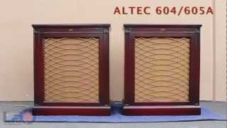 ALTEC 605A/ 604 Speakers