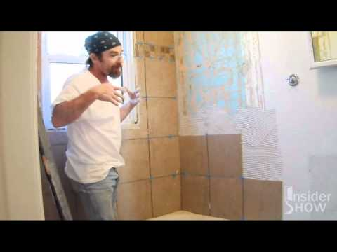 How to Lay Tile for a Bathroom Shower Tub Surround - Do It ...