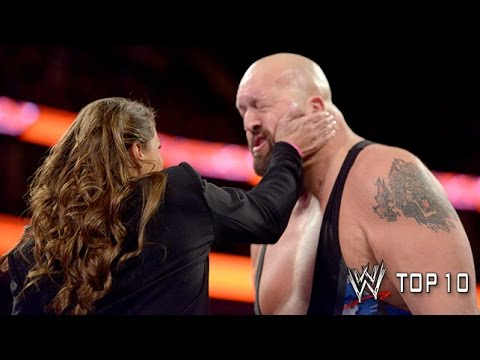 Which slaps made it on WWE Top 10? From Stephanie and Brie to the DiBiase family, the hardest hitting and most unforgettable slaps are featured here. And yes...
