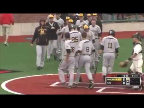 2013 MVC Baseball Championship Highlights Game 9: Wichita State 15, Southern Illinois 0