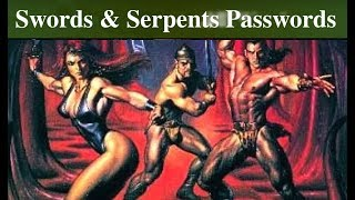 Swords & Serpents ※ Cracking Videogame Passwords S01E12