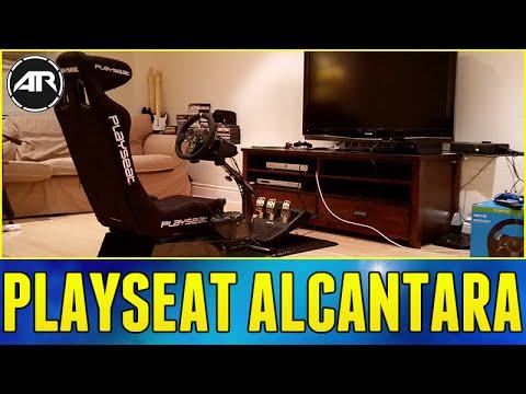Playseat Alcantara Unboxing. Setup & Review!!! (Playseat Evolution. Gear Shifter. Seat Slider)