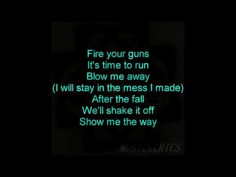 Breaking Benjamin (feat. Valora) - Blow Me Away (lyrics) video