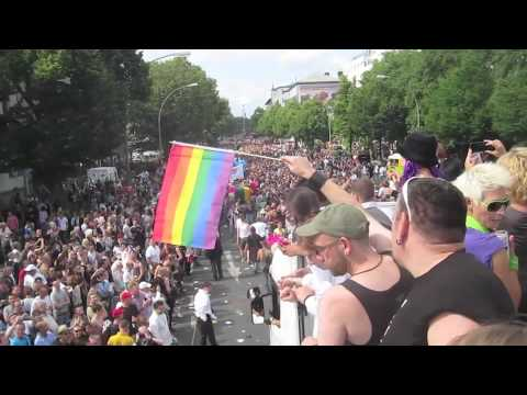 Gay Pride Berlin 2011 - Uncut Clips