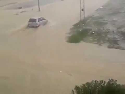 Image video أمطار غزيرة بالمروج