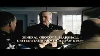 General George C Marshall speech scene at Saving Private Ryan