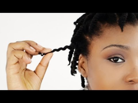 How To 2 Strand Twist Out on Short Natural Hair Tutorial Part 1 - Supplies