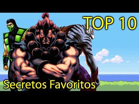 Top 10 - Secretos en Videojuegos