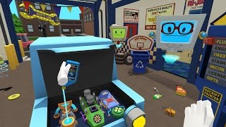 Job Simulator Gameplay - Auto Mechanic - HTC Vive