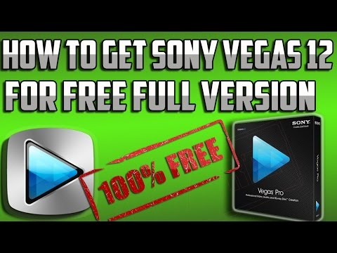 How To Get Sony Vegas Pro 12 Free *VOICE* (EASY) (2014)