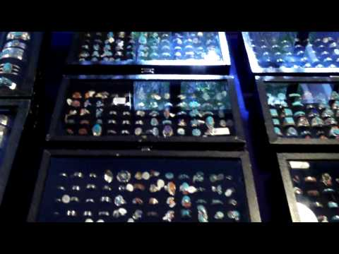 Colburn Earth Science Museum Gem and Mineral Exhibit 7.MOV