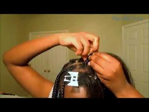 Individual Box Braids Tutorial *QUE PREMIUM SOFT JUMBO BRAID by SHAKE N GO*