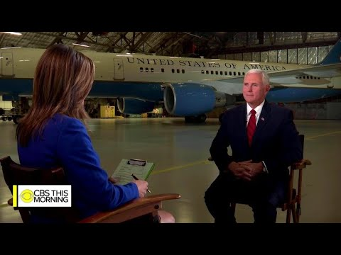 "Full interview of Vice President Mike Pence on ""CBS This Morning"""