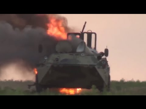 Russian troops unsuccessfully attack Ukraine.