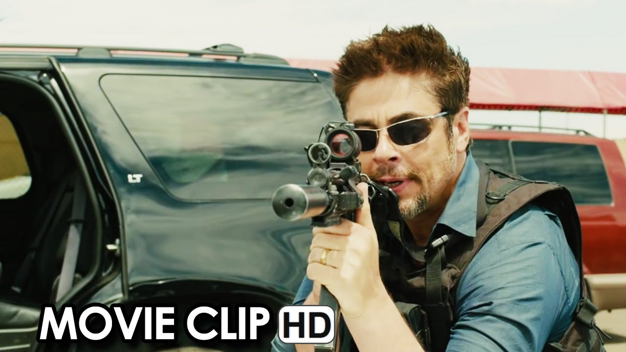 SICARIO ft. Emily Blunt and Benicio Del Toro - Movie CLIP 'Bridge' (2015) HD