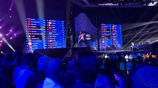 The exiting televoting moments of Eurovision 2019 + Duncan Laurence winning performance