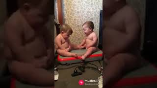 Funny Dance By Baby