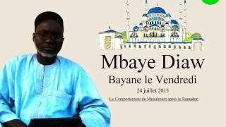 Mbaye Diaw le comportement du musulment après le ramadan