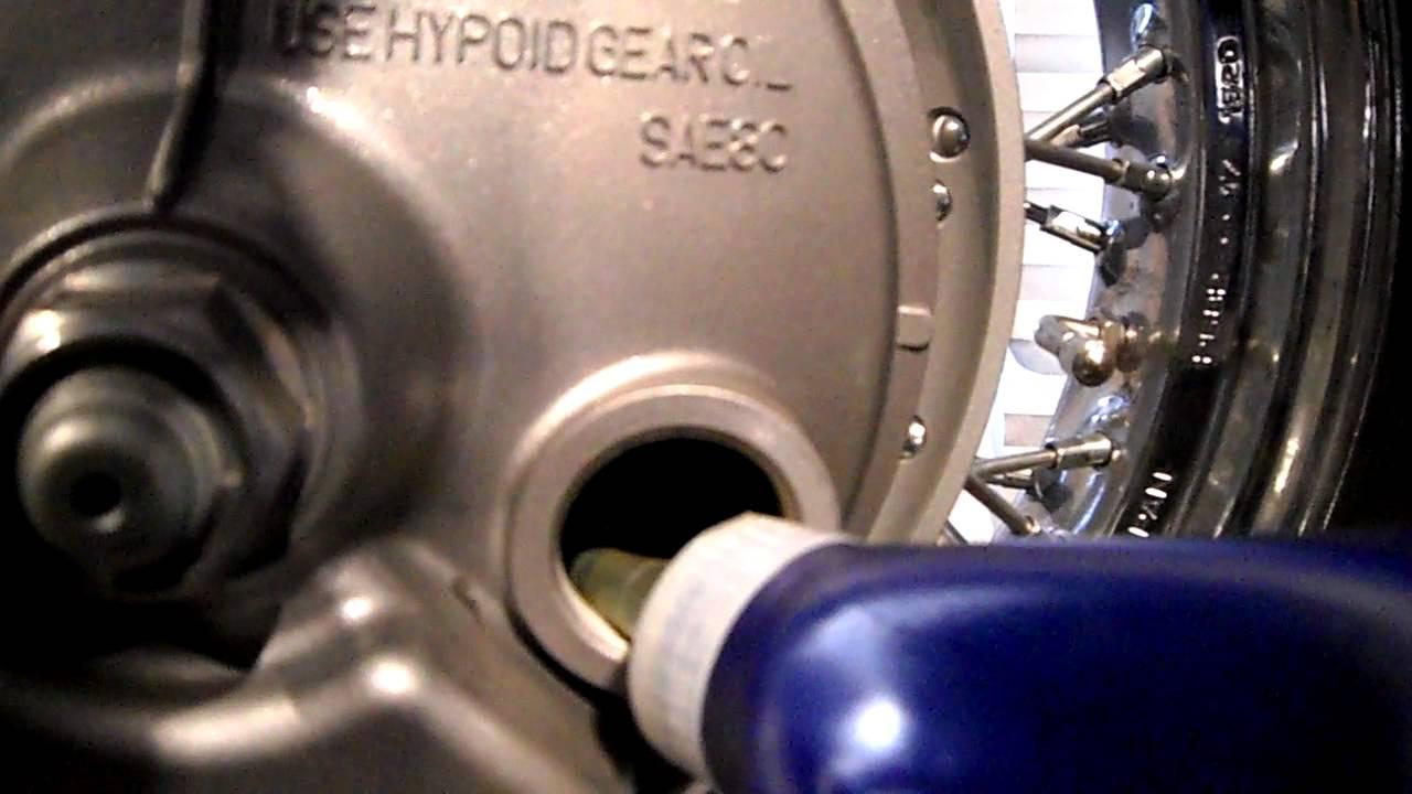 2009 Honda Shadow 750 Aero Rear Differential Service