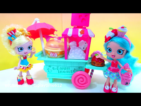 NUM NOMS ART CART POPCORN with Jessicake & Popette | itsplaytime612