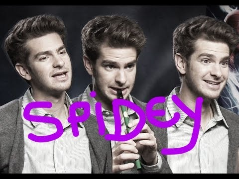We asked Andrew Garfield a load of spider questions because he's in The Amazing Spider-Man 2.  Obvs.