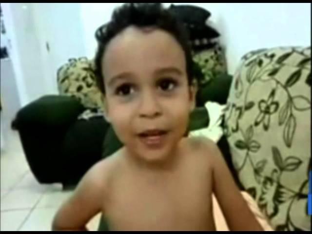 """Antônio e seu filhinho Miguel no """"Eu na VVTV"""". Envie o seu vídeo também!"""