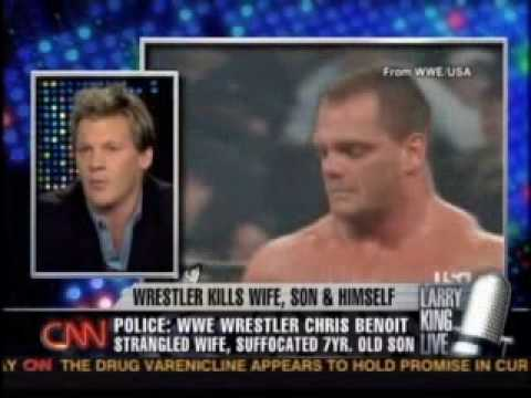 Larry King talks to wrestlers about Chris Benoit -Part 1 of4