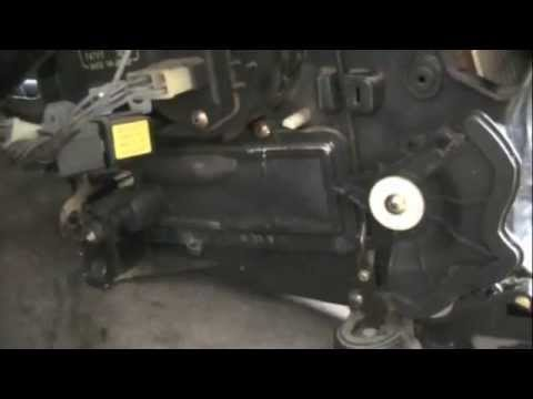 isuzu heater core removal youtube