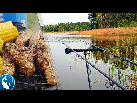 рыбалка на пруду ютуб