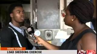 Load Shedding Exercise - Joy News Today (20-10-14)