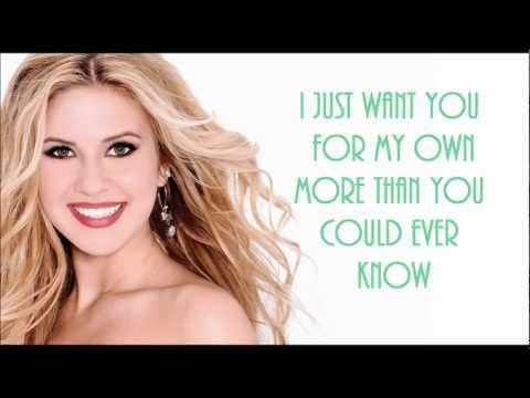 Caroline Sunshine - All i want for Christmas lyrics