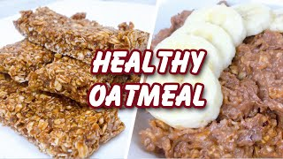6 Healthy Tasty Oatmeal Recipes For Weight Loss -  Happy Relaxing Music