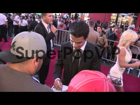 Joe Taslim greets fans at the Fast and The Furious 6 Prem...