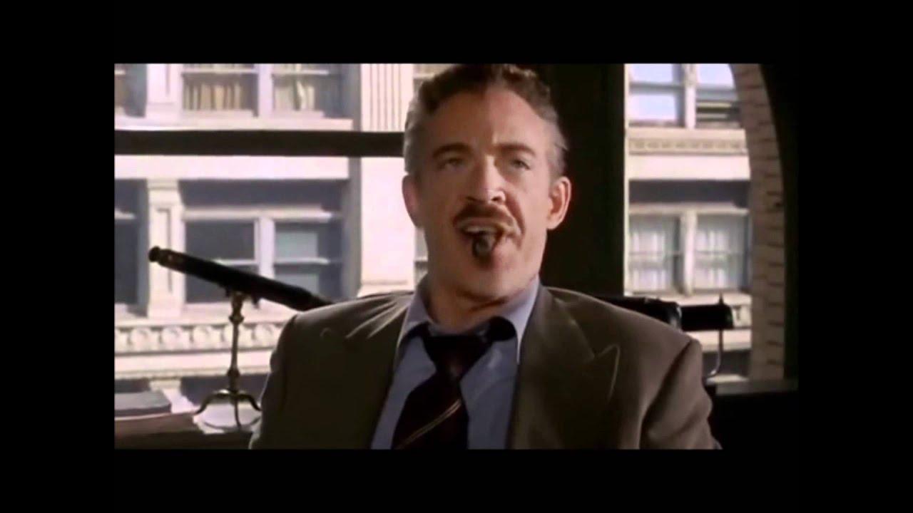 J Jonah Jameson Laugh - Spiderman - YouTube
