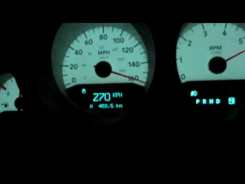 Dodge Charger Rt 5 7L Top speed