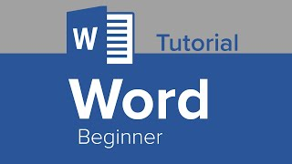 Word Beginner Tutorial