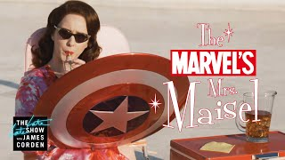Marvel's Mrs. Maisel: Rachel Brosnahan Enters the Marvel Universe