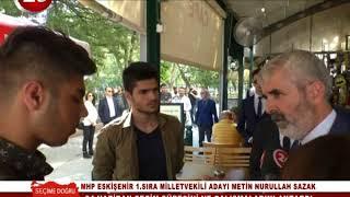 Seçime Doğru | MHP Eskişehir Mv Ad Metin Nurullah Sazak
