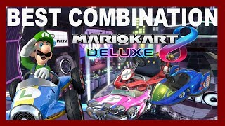 Best Mario Kart 8 Deluxe Combination?! - Mario Kart 8 Deluxe Tier List
