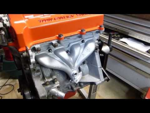 Spray painting exhaust manifold or headers - high temperature ceramic paint
